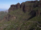 Mountains Near Masca  Tenerife  Canary Islands  Spain  Europe
