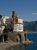 Atrani  Amalfi Coast  UNESCO World Heritage Site  Campania  Italy  Europe