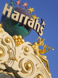 Detail of Harrah&#39;s Casino  Las Vegas  Nevada  United States of America  North America