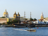 Harbour Area  Old Town  UNESCO World Heritage Site  Cartagena  Colombia  South America
