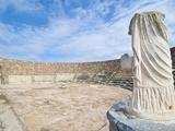 Roman Ruins of Salamis  Turkish Part of Cyprus  Cyprus  Europe
