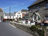 Afternoon Tea  Mortehoe  Devon  England  United Kingdom  Europe