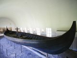 Gokstad Viking Ship Excavated From Oslofjord  Vikingskipshuset (Viking Ship Museum)  Oslo