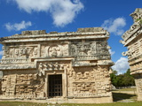 The Church in Ancient Mayan Ruins  Chichen Itza  UNESCO World Heritage Site  Yucatan  Mexico