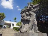 Statue at Museo De Arte De El Salvador  San Salvador  El Salvador  Central America