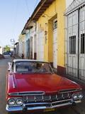 Chevrolet  Classic 1950S American Car  Trinidad  UNESCO World Heritage Site  Cuba