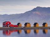 Eskifjordur Village  Eskifjordur Fjord  East Fjords Region (Austurland)  Iceland  Polar Regions