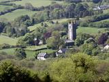 St Pancras Church  Widecombe in the Moor  Dartmoor  Devon  England  United Kingdom  Europe