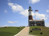Montauk Point Lighthouse  Montauk  Long Island  New York  United States of America  North America