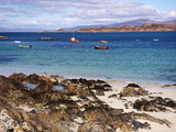 Small Boats  Isle of Iona  Inner Hebrides  Scotland  United Kingdom  Europe