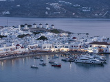 Mykonos Town  Chora  Mykonos  Cyclades  Greek Islands  Greece  Europe