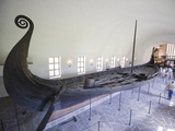 Oseberg Viking Ship Excavated From Oslofjord  Vikingskipshuset (Viking Ship Museum)  Oslo