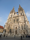 Regensburg Cathedral Dedicated to St Peter  Regensburg  Bavaria  Germany