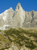 Aiguilles Du Dru  Mont Blanc Range  Chamonix  French Alps  France  Europe