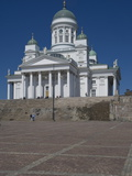 The Lutheran Cathedral in Senate Square  Helsinki  Finland  Scandinavia  Europe