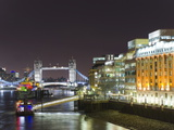 London Skyline at Night  London  England  United Kingdom  Europe