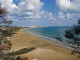 Vieste Beach  Gargano Coast  Adriatic  Puglia  Italy  Europe