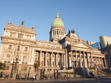 Palacio Del Congreso (National Congress Building)  Plaza Del Congreso  Buenos Aires  Argentina