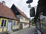 Den Gamle By  the Old Town Open Air Museum  Arhus  Jutland  Denmark  Scandinavia  Europe