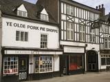 Ye Olde Pork Pie Shoppe  Melton Mowbray  Leicestershire  England  United Kingdom  Europe