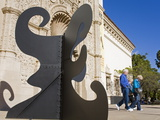 San Diego Museum of Art in Balboa Park  San Diego  California  USA