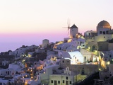 Oia (Ia)  Island of Santorini (Thira)  Cyclades Islands Aegean  Greek Islands  Greece  Europe