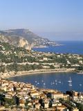 Villefranche  Cote D'Azur  Provence  French Riviera  France  Mediterranean  Europe