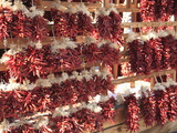 Dried Red Chillies  Chili Ristras  Santa Fe  New Mexico  United States of America  North America