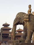 Bishwanath Mandir  Durbar Square  UNESCO World Heritage Site  Patan  Kathmandu Valley  Nepal  Asia