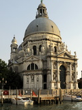 Basilica Santa Maria Della Salute  on the Grand Canal  Venice  Veneto  Italy  Europe