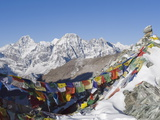 Cho La Pass  Solu Khumbu Everest Region  Sagarmatha National Park  Himalayas  Nepal  Asia