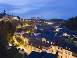 Old Town  Luxembourg City  Grand Duchy of Luxembourg  Europe