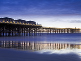 Crystal Pier on Pacific Beach  San Diego  California  United States of America  North America