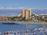 Playa De Las Vistas  Los Cristianos  Tenerife  Canary Islands  Spain  Atlantic  Europe