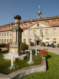 Hotel Residenzschloss  Bamberg  Bavaria  Germany  Europe