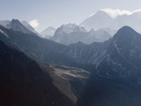 View of Mount Everest  From Gokyo Ri  5483M  Gokyo  Solu Khumbu Everest Region  Himalayas