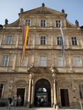 New Residence  Bamberg  Bavaria  Germany  Europe