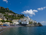 The Town of Amalfi  UNESCO World Heritage Site  Campania  Italy  Europe