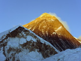 Sunset on Mount Everest  8850M  Solu Khumbu Everest Region  Sagarmatha National Park  Himalayas