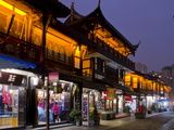 Wenshu Yuan Ancient District at Dusk  Chengdu  Sichuan  China  Asia