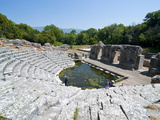 The Roman Ruins of Butrint  UNESCO World Heritage Site  Albania  Europe