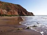 Exmouth Cliffs  Exmouth  Devon  England  United Kingdom  Europe