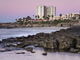Coastline at Sunset  La Jolla  San Diego County  California  USA