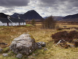 Black Rock Cottage and Buachaille Etive Mor  Glencoe  Highland Region  Scotland