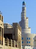 Minaret  Souq Waqif  Doha  Qatar  Middle East