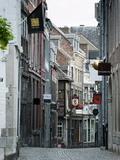 Stokstraat (Stok Street)  Maastricht  Limburg  the Netherlands  Europe