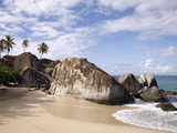 The Baths  Large Granite Boulders  Virgin Gorda  British Virgin Islands  West Indies  Caribbean