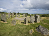 Drombeg Stone Circle  a Recumbent Stone Circle Locally Known As the Druid's Altar  Rep of Ireland