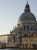 Morning Light  Chiesa Della Salute  Grand Canal  Venice  UNESCO World Heritage Site  Veneto  Italy