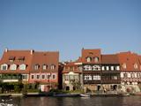 Klein-Venedig (Little Venice)  Bamberg  UNESCO World Heritage Site  Bavaria  Germany  Europe